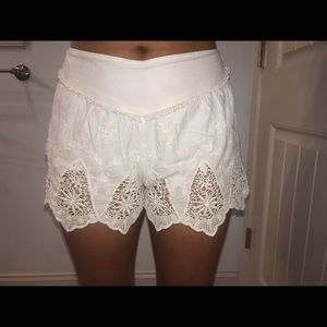 Crotchet shorts (size: small)